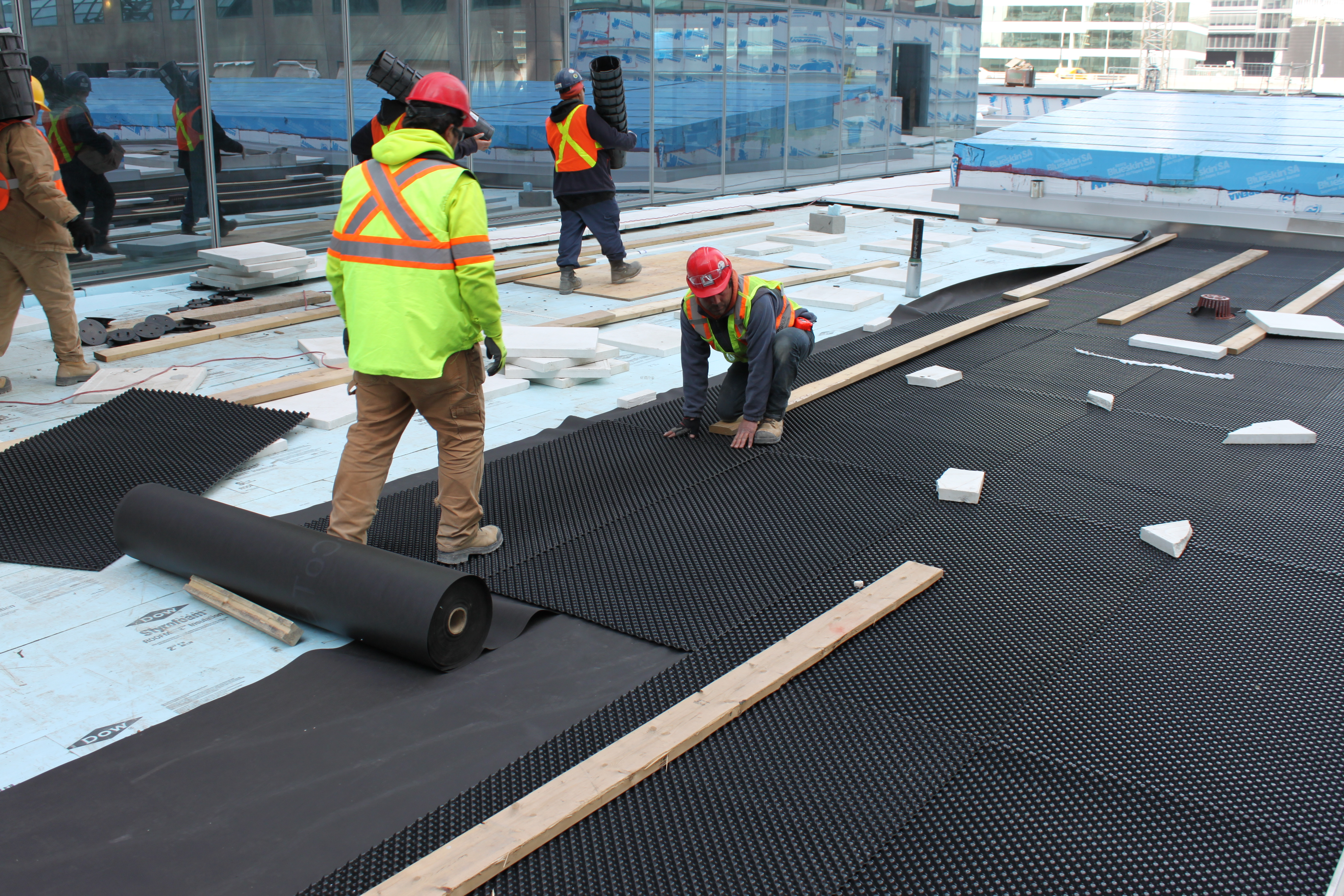Engineered Green Roof Assembly for optimal performance