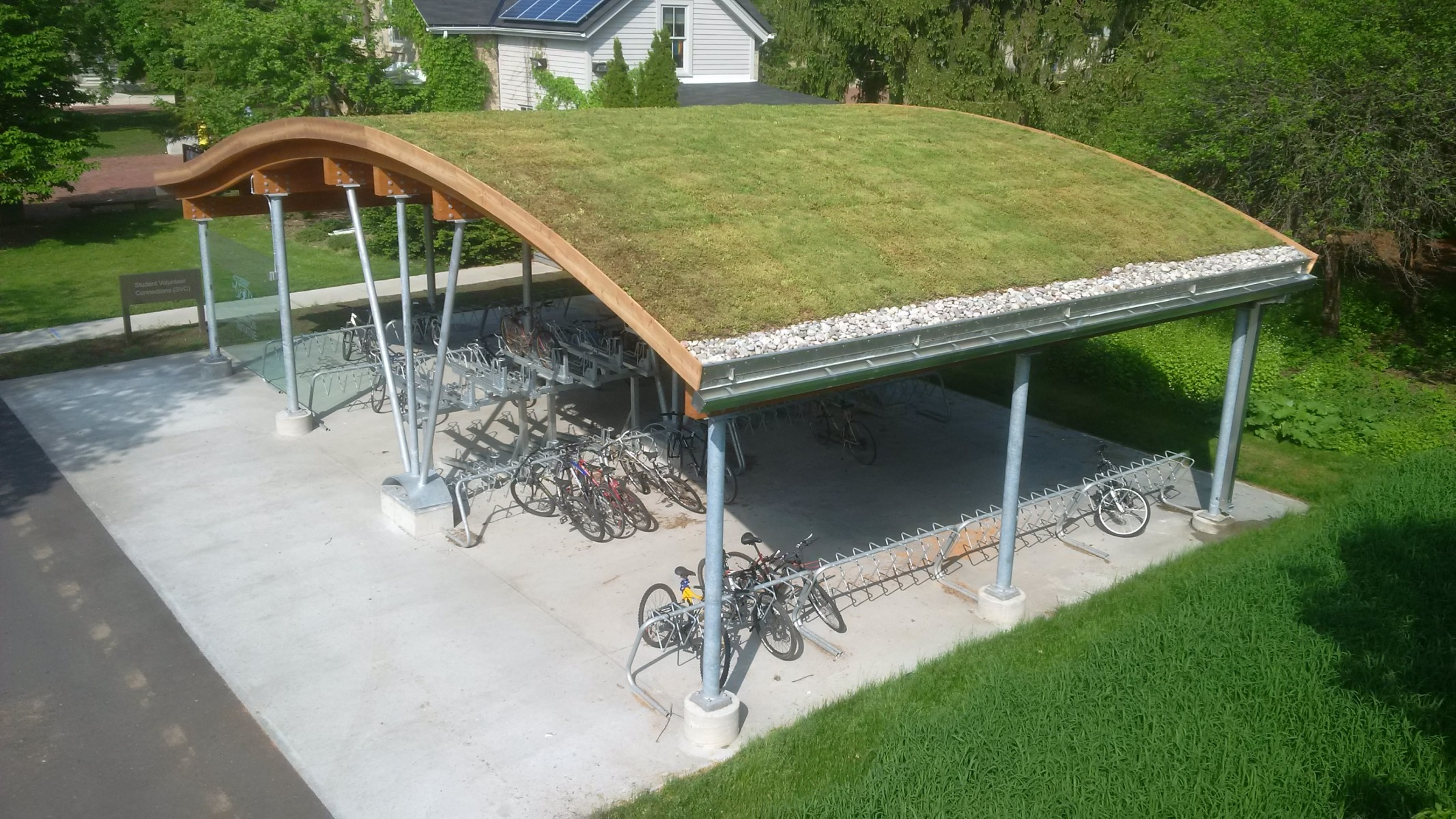 Sloped Green Roofs Zinco Canada