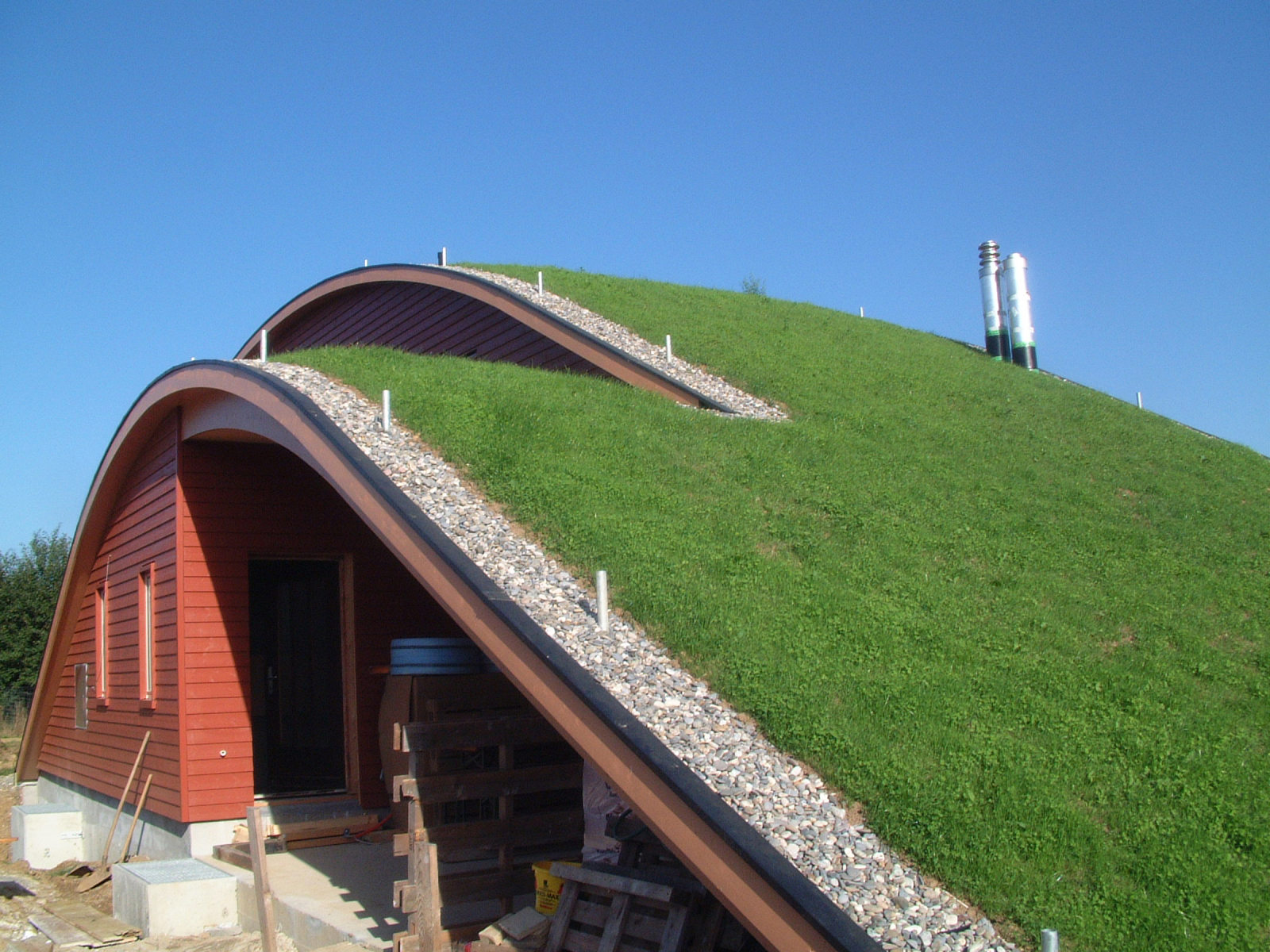 Steep Sloped Green Roofs Zinco Canada